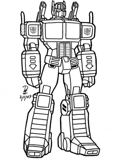 Dibujos De Transformers Para Colorear Colorear Imágenes