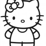 Fotos de Hello Kitty para colorear