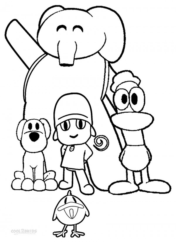 Pocoyo-Para-Colorear-Coloring-Pages