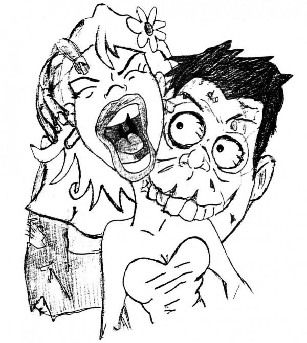 Imágenes de Zombies para colorear | Colorear imágenes