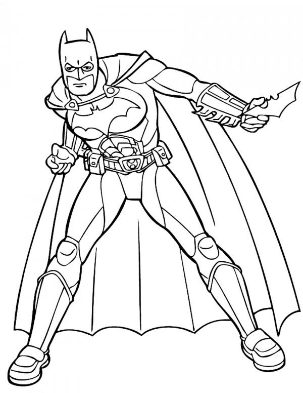 Fotos De Batman Para Pintar Colorear Im 225 Genes