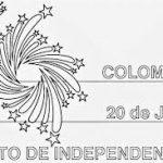 20 de Julio – Día de la Independencia de Colombia para pintar