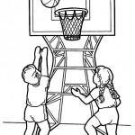 Dibujos de deportes para imprimir y colorear