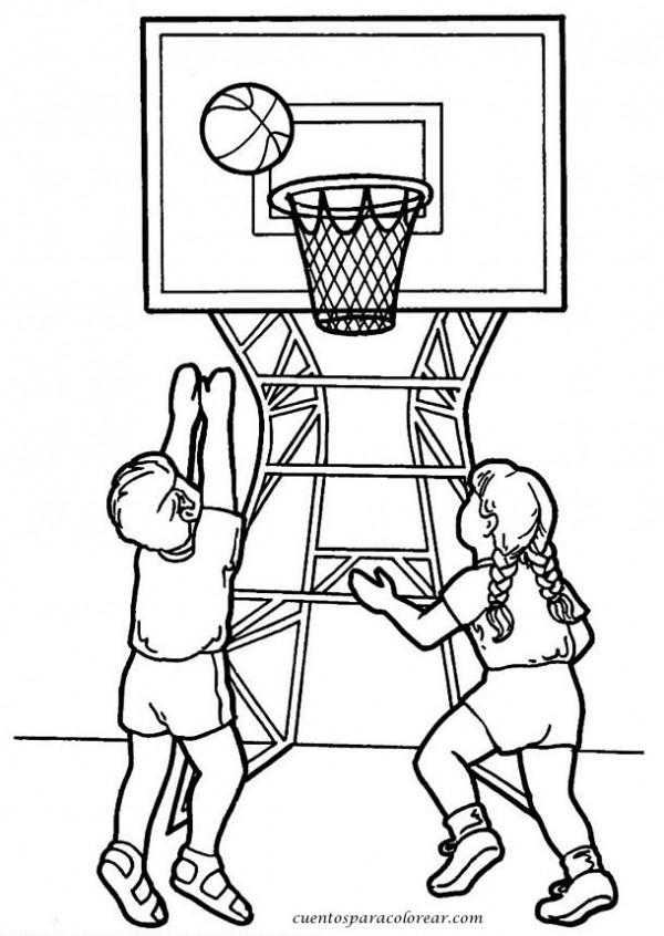 Dibujos de deportes para imprimir y colorear | Colorear imágenes