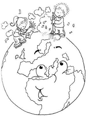 Cómo Podemos Cuidar El Medio Ambiente Dibujos Para Colorear