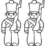 Dibujos de soldaditos para imprimir y pintar