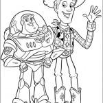 Imágenes para pintar de Toy Story