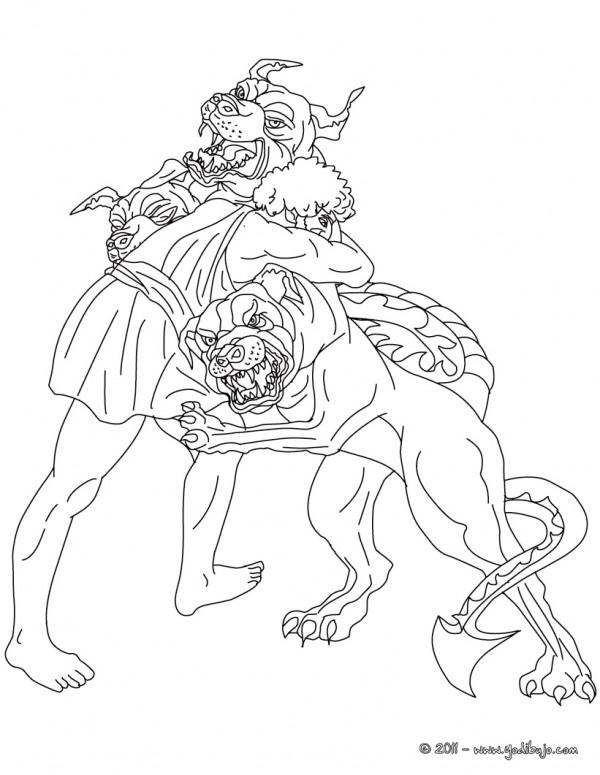 Imágenes de Hercules para pintar | Colorear imágenes