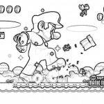 Imágenes de Mario Bross para pintar