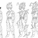 Imágenes para colorear de Dragon Ball Z muy originales