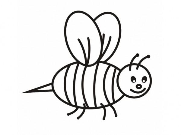 abeja-infantil-para-pintar