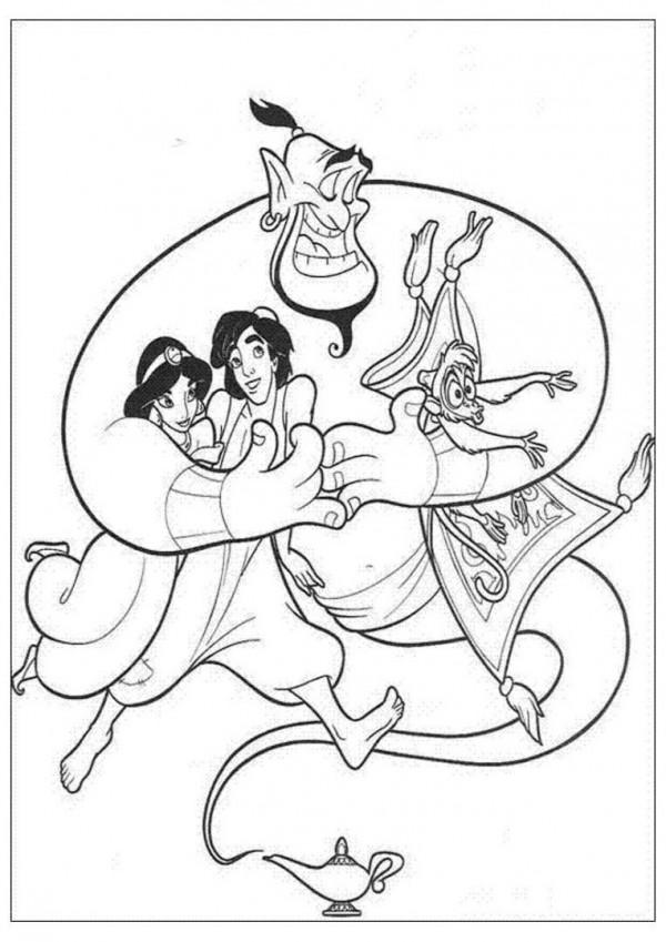 aladdin-jasmine-y-el-genio-de-la-lampara
