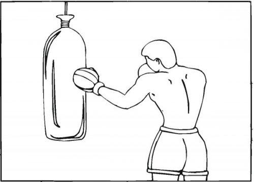 Imágenes De Boxeo Para Colorear Boxeadores Peleando Para