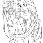 Imágenes para pintar de Rapunzel