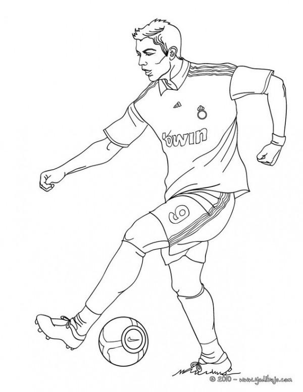 Dibujos De Jugadores De Fútbol Famosos Para Pintar Messi