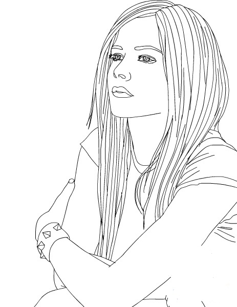 kanza tribe coloring pages - photo#15
