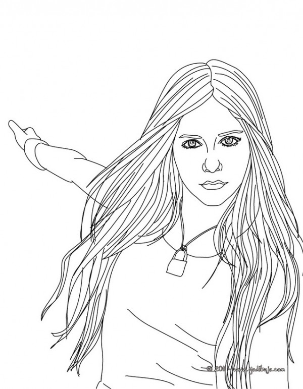 Caricaturas De Avril Lavigne Para Colorear Colorear Im 225 Genes