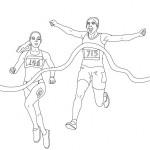 Imágenes para pintar de atletismo