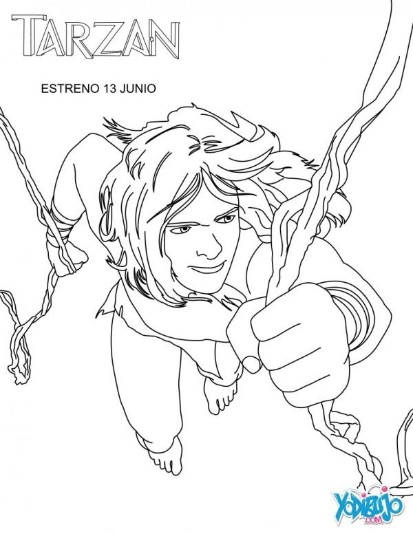 Tarz 225 N Jane Y La Mona Chita Para Imprimir Y Colorear