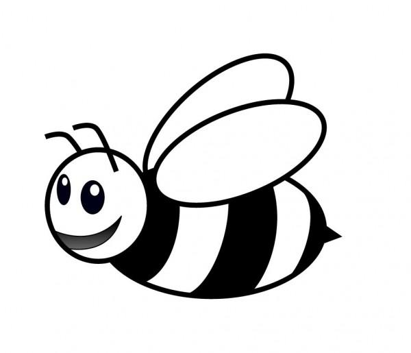 dibujo-para-ninos-de-una-abeja