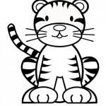 Fotos de tigre para pintar