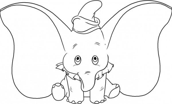 dibujos-para-colorear-de-dumbo