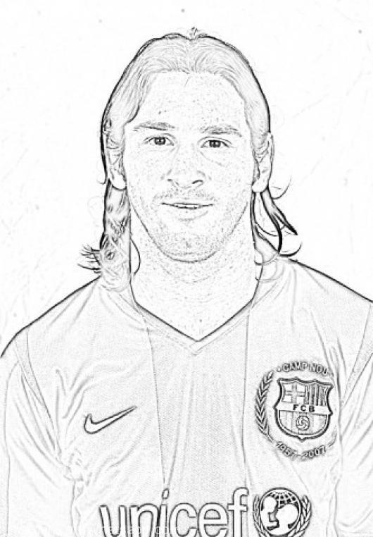 imagenes-para-colorear-a-Messi1