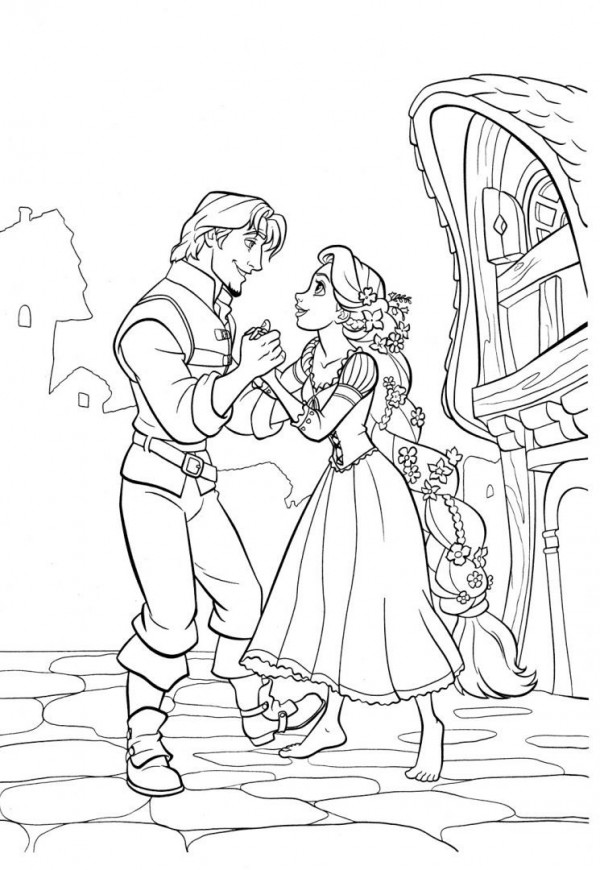 Elsa Printable Coloring Pages