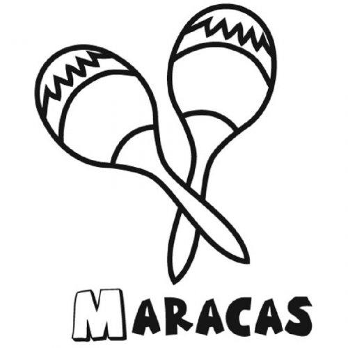 1025-4-dibujo-de-unas-maracas-para-imprimir-y-colorear