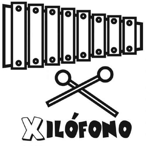 1033-4-dibujo-para-pintar-de-un-xilofono