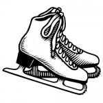 Fotos de patinaje artistico sobre hielo para colorear