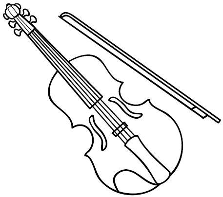 INSTRUMENTOS MUSICALES BLANCO Y NEGRO (13)