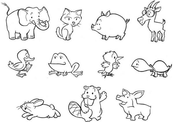 dibujos del d a mundial de los animales para colorear colorear im genes. Black Bedroom Furniture Sets. Home Design Ideas