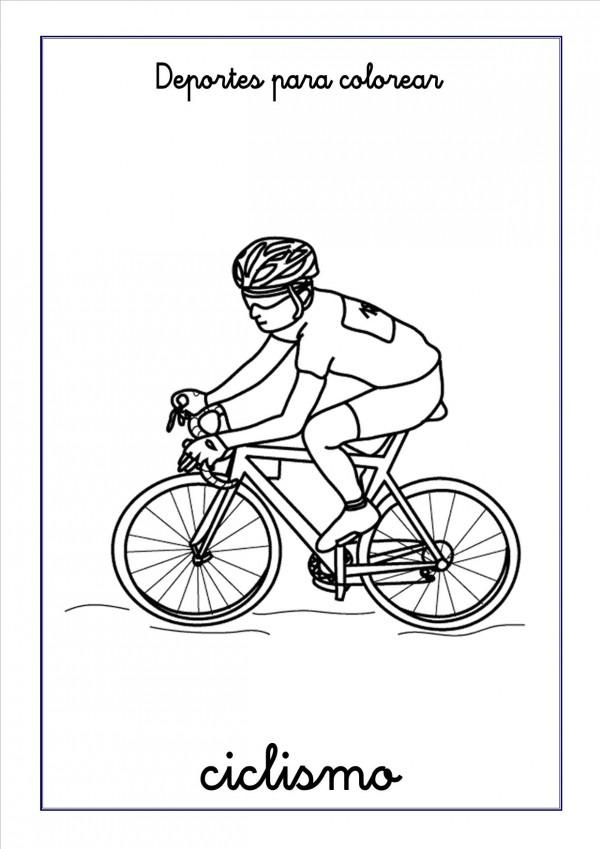 ciclismo-para-colorear