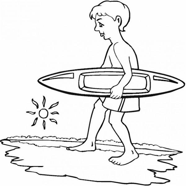 dibujos-surf-para-colorear