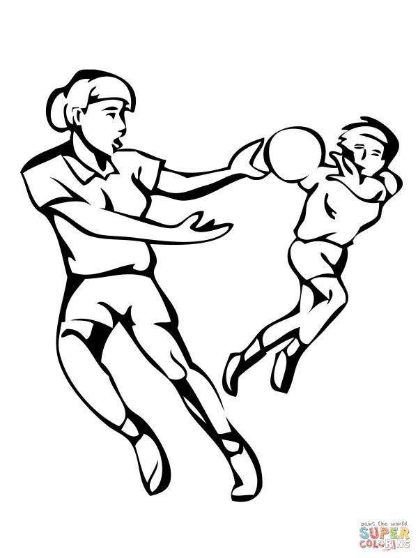 handball-match-coloring-page