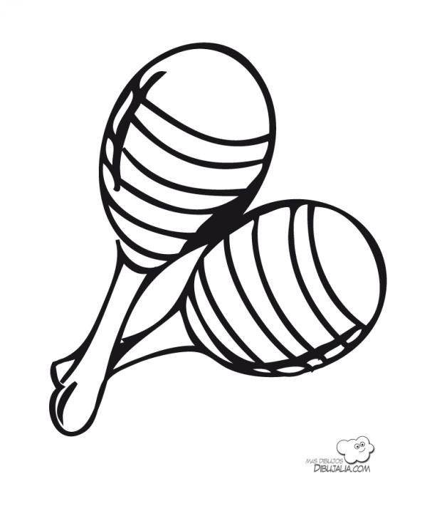maracas-dibujalia