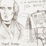 16 de septiembre – Dibujos de la Independencia de México para imprimir y pintar