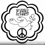 Dibujos para pintar del Día Internacional de la Paz