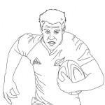 Imágenes para pintar de rugby