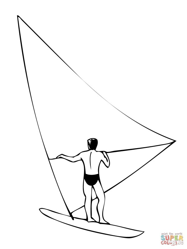 windsurf-coloring-page