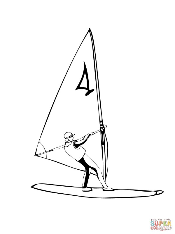 windsurfer-coloring-page