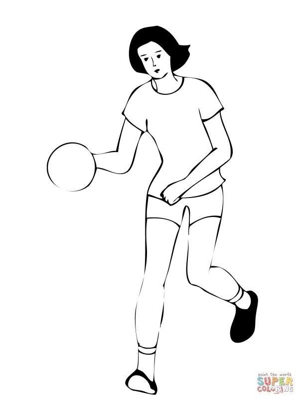 woman-handball-player-coloring-page