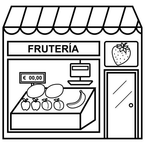 Dibujos de fruter as para colorear colorear im genes for Proyecto restaurante escolar