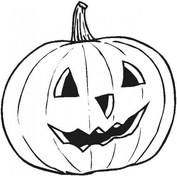 Pintando calabazas para Halloween o Noche de Brujas | Colorear