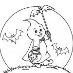 Fantasmas de Halloween para colorear y adornar tu casa