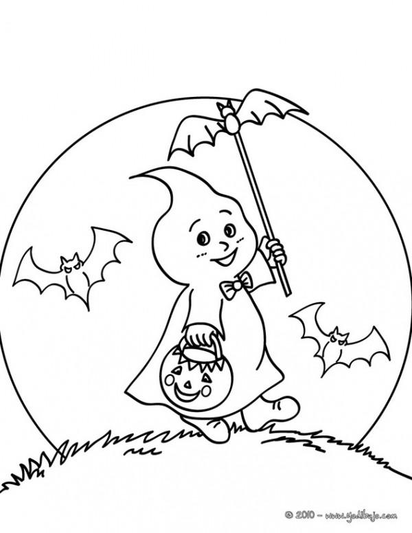 Fantasmas De Halloween Para Colorear Y Adornar Tu Casa Colorear