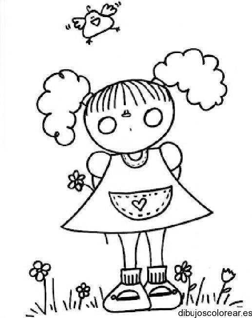 11 de octubre – Día Internacional de la Niña – Dibujos para colorear ...