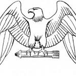 Dibujos de águilas para colorear