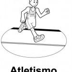 Dibujos de deportistas para imprimir y pintar